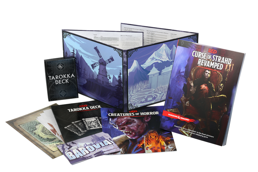 Curse of Strahd Revamped: Dungeons and Dragons