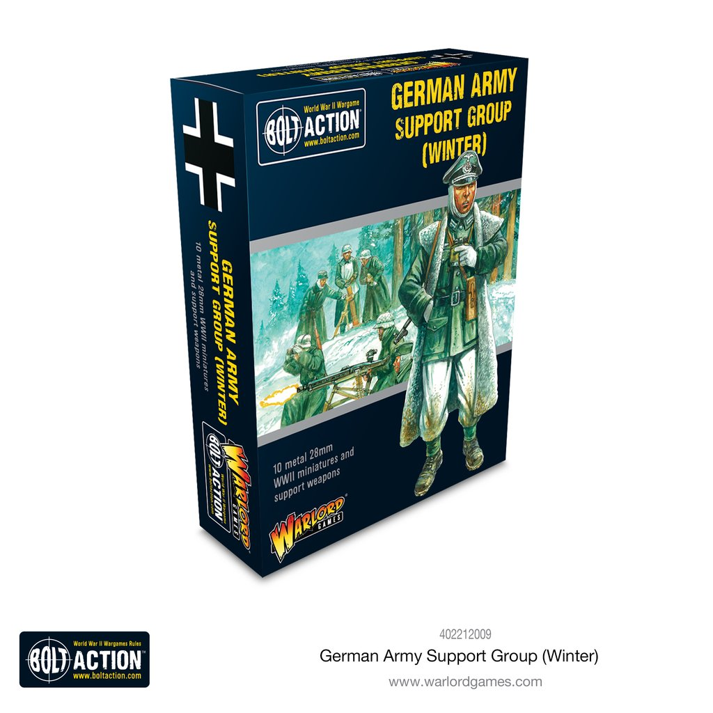 German Army Winter Support Group: Bolt Action