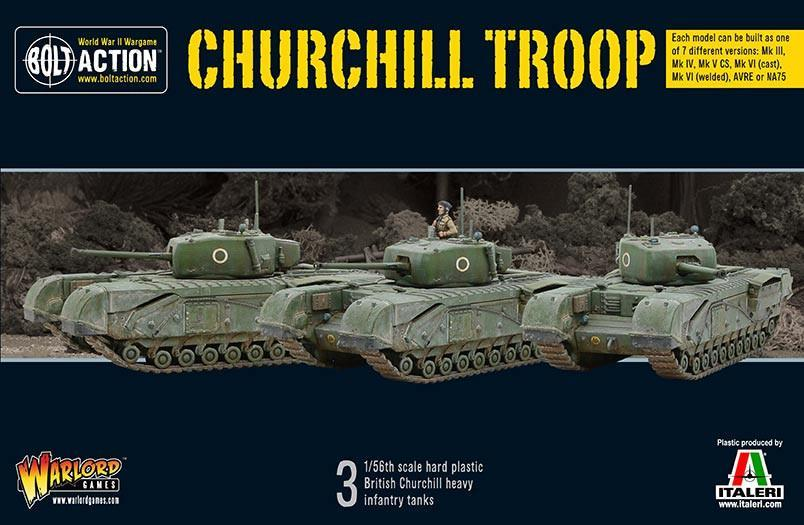Churchill Troop: Bolt Action