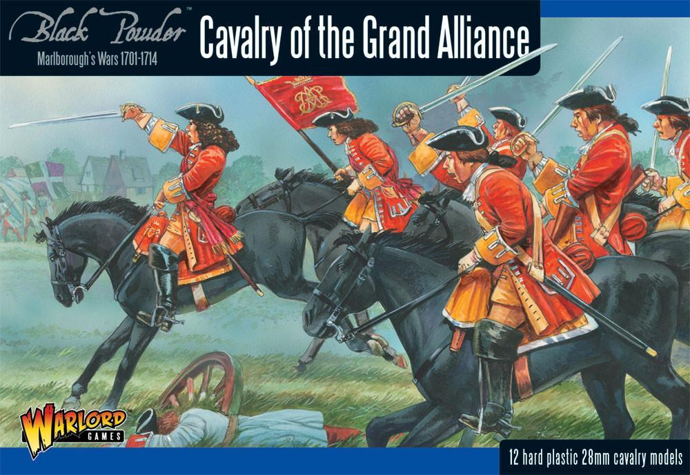 Cavalry of the Grand Alliance: Black Powder Marlborough's Wars