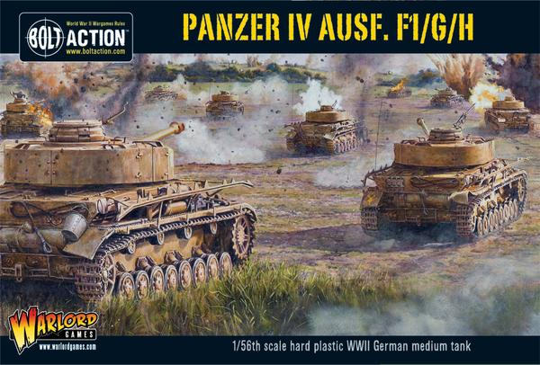 Panzer IV Ausf. F1/G/H Medium Tank: Bolt Action