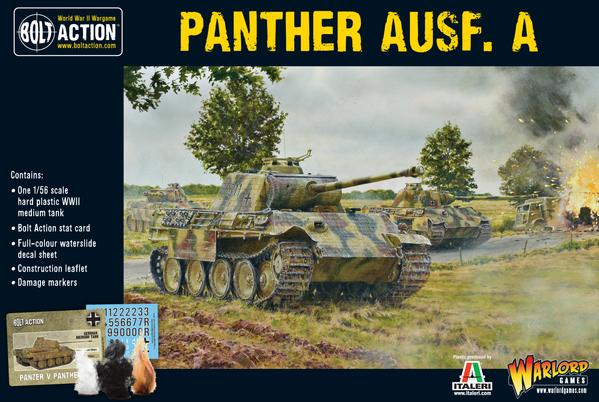 Panther Ausf A: Bolt Action