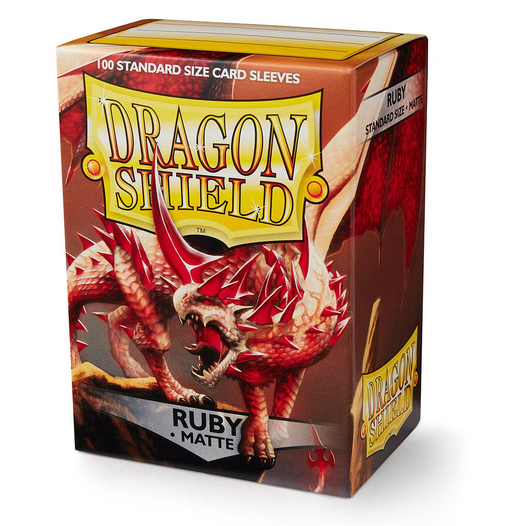 Dragon Shield Matte - Ruby (100)