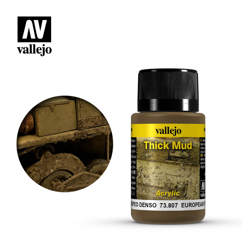 European Thick Mud - Weathering Effects