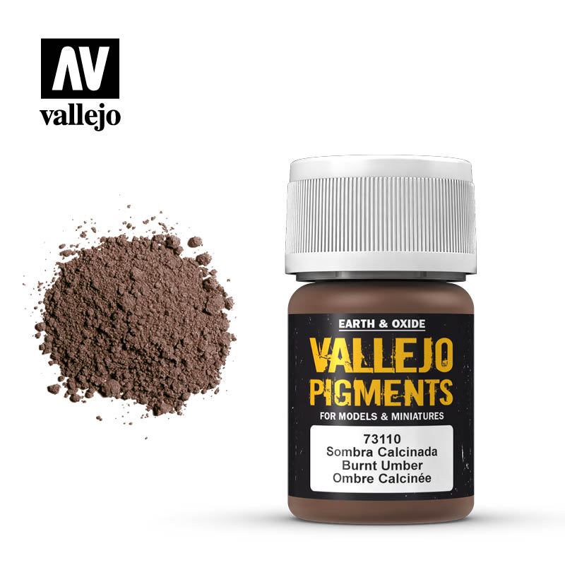 Burnt Umber: Vallejo Pigments