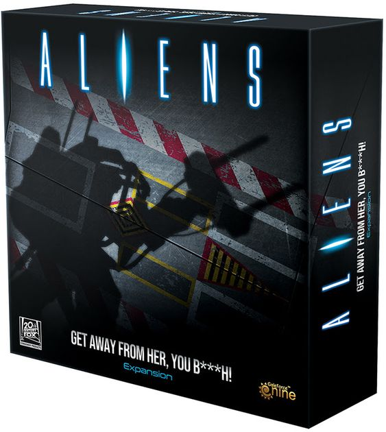 Aliens: Get Away From Her, You B***h! Expansion: A Cooperative Survival Game