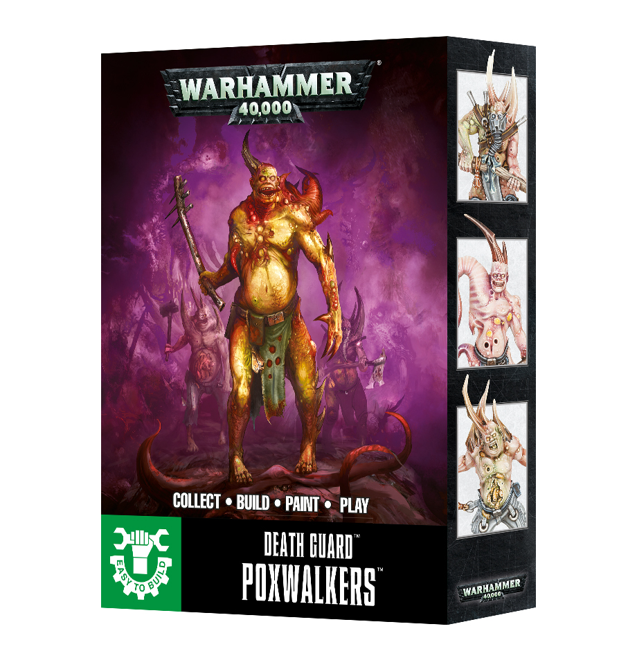 Easy to Build Poxwalkers: Death Guard