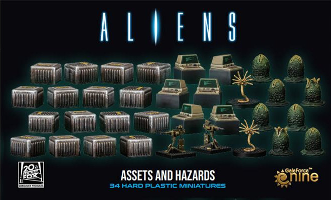 Aliens Assets and Hazards