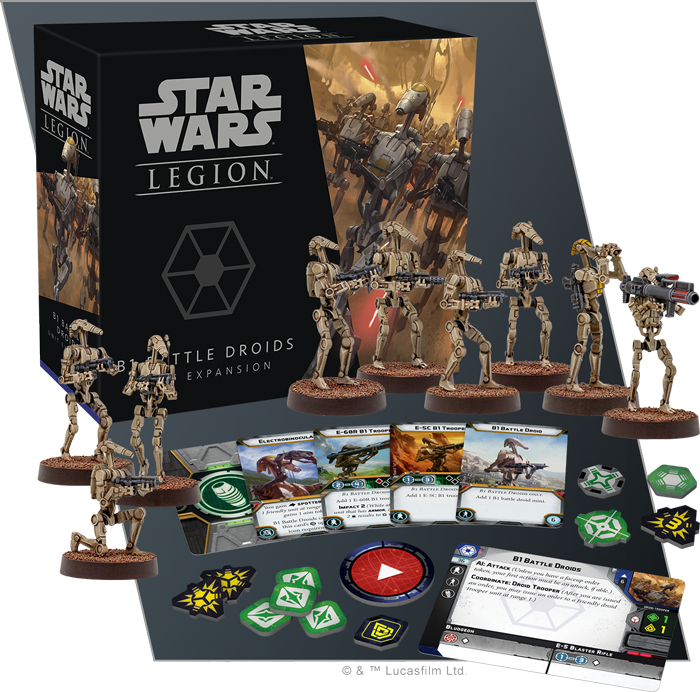B1 Battle Droids Unit Expansion: Star Wars Legion