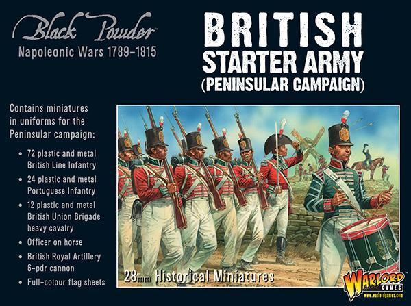British Starter Army (Peninsula Campaign): Black Powder Napoleonic