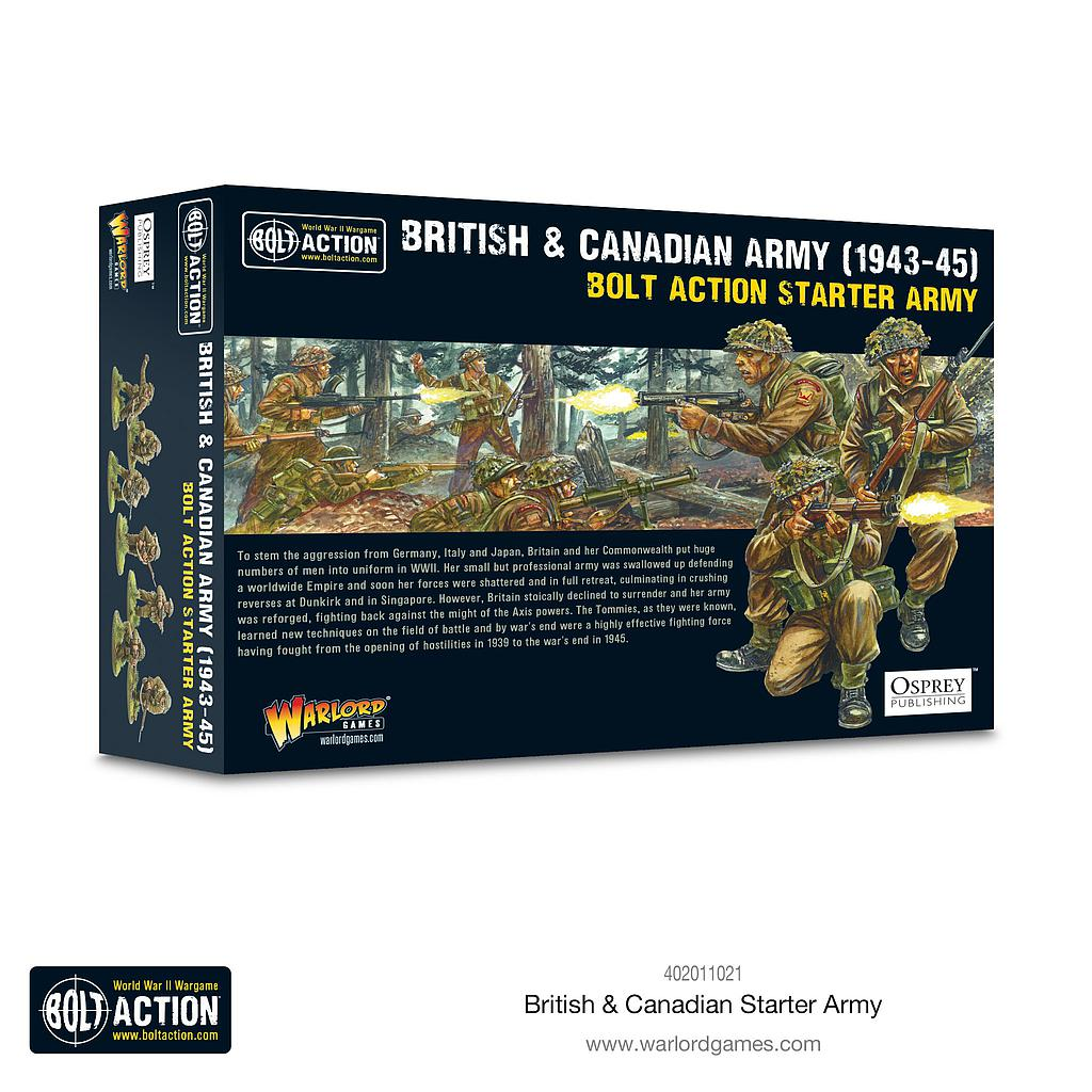 British & Canadian Starter Army (1943-1945)
