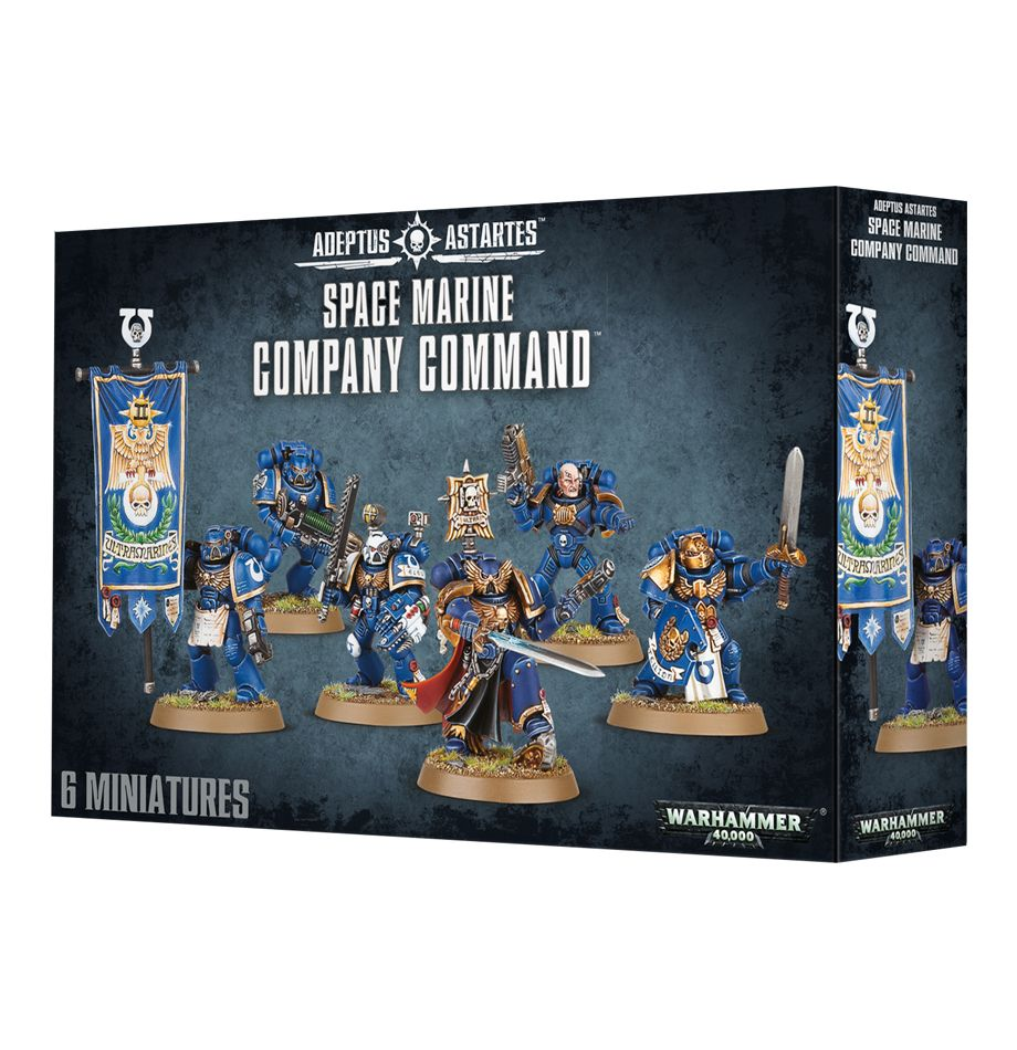 Company Command: Space Marines