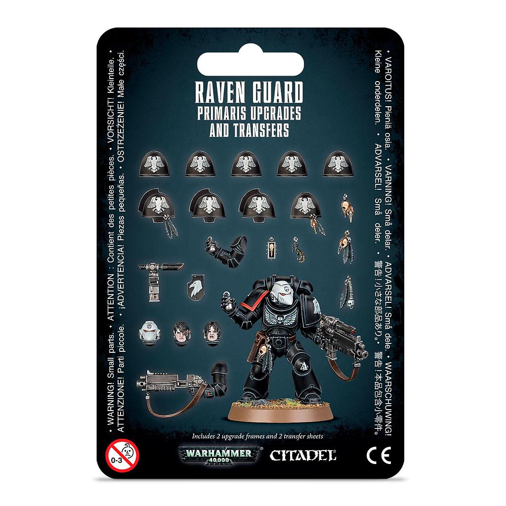 Primaris Upgrades and Transfers: Raven Guard