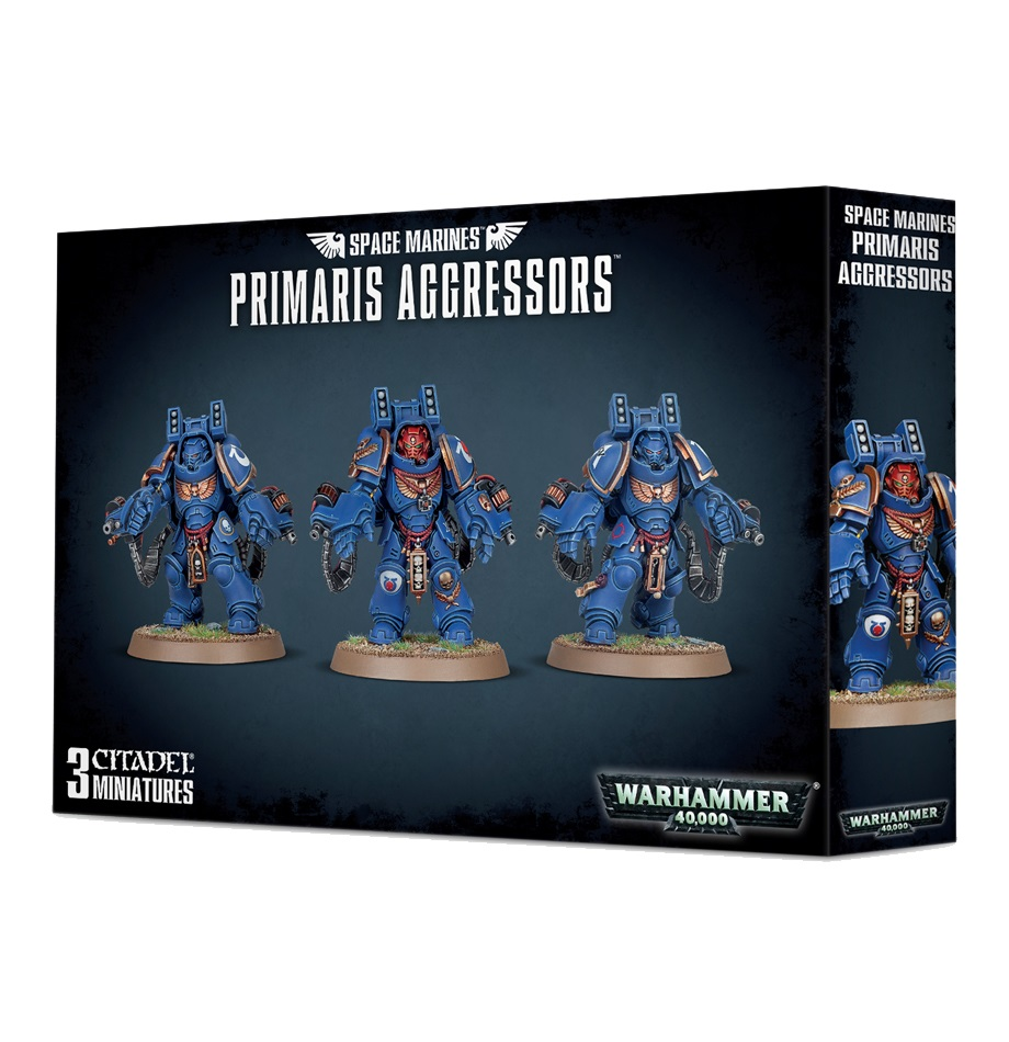 Primaris Aggressors: Space Marines