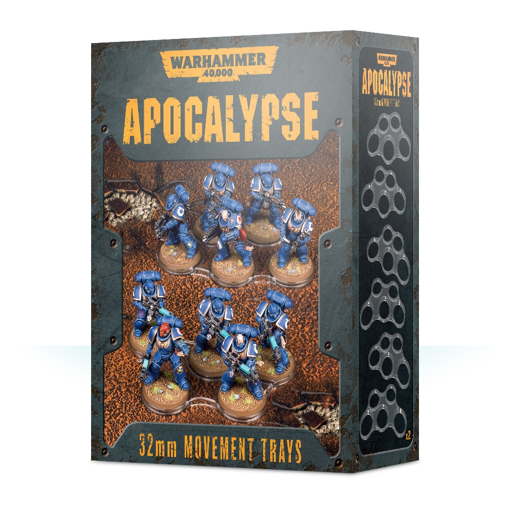 Apocalypse Movement Trays (32mm): Warhammer 40,000