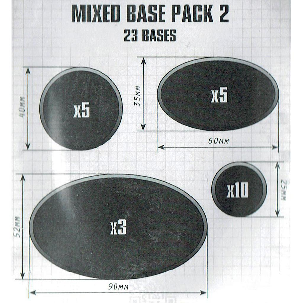 Citadel Mixed Bases Pack 2