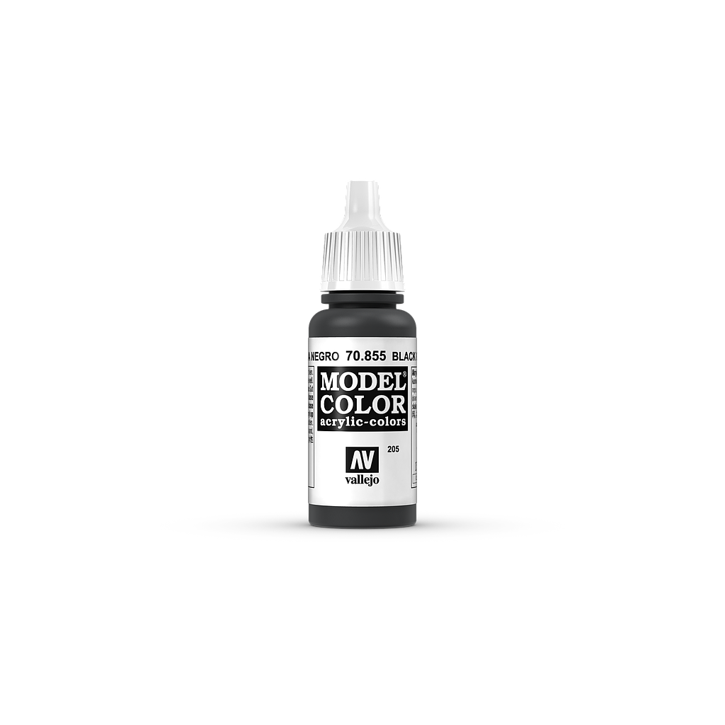 AV Model Color 17ml - Black Glaze