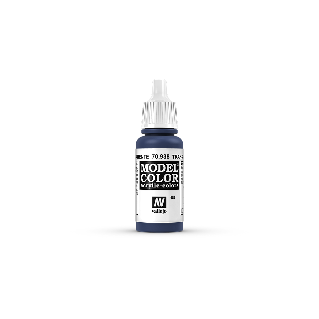 AV Model Color 17ml - Transparent Blue