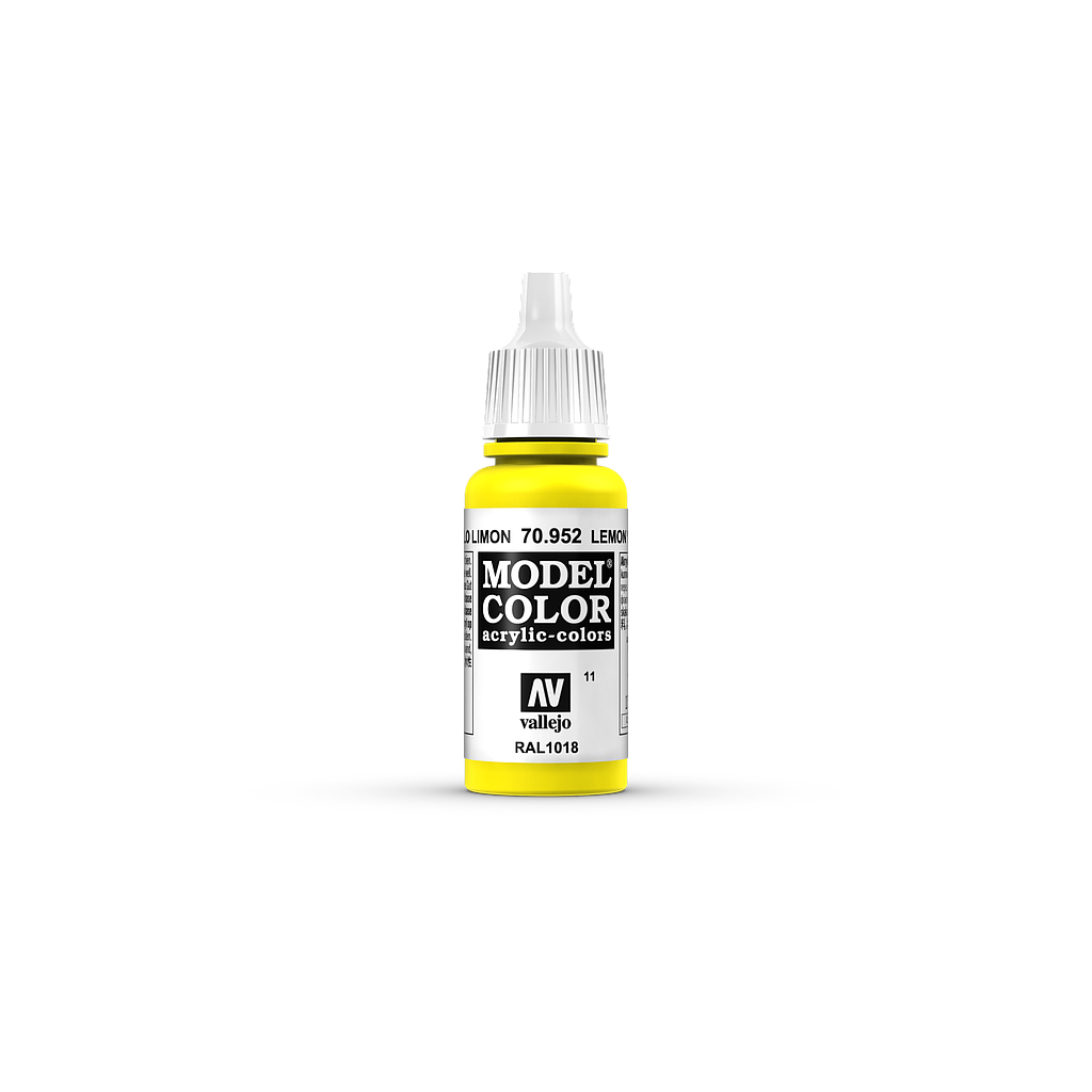 AV Model Color 17ml - Lemon Yellow