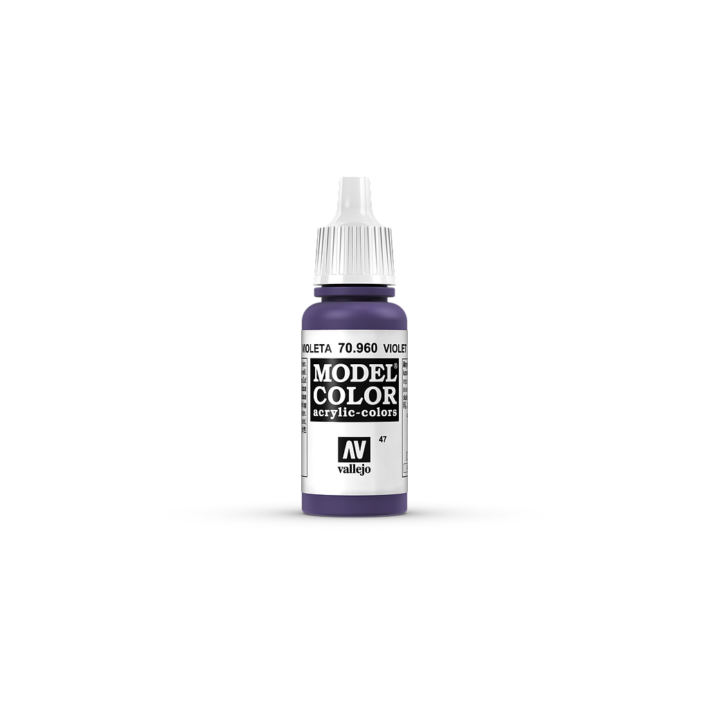 AV Model Color 17ml - Violet