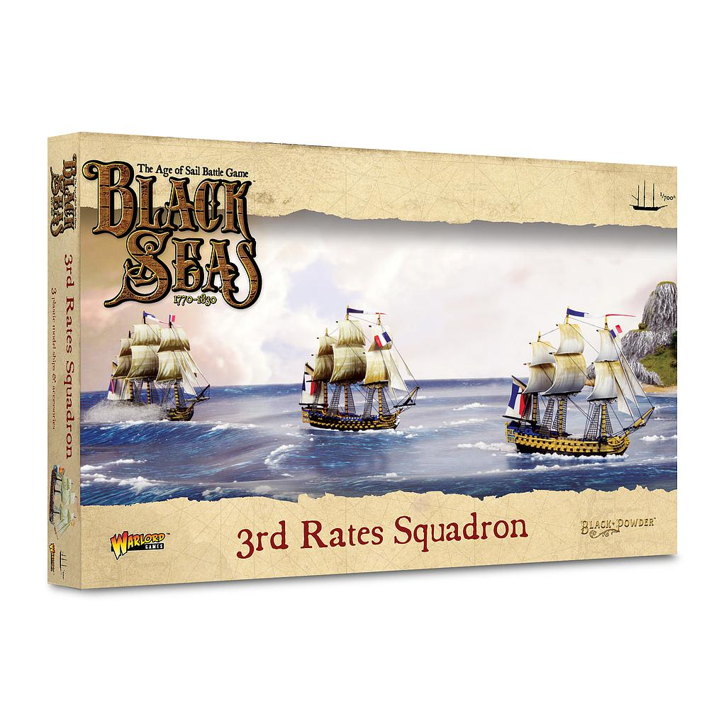 3rd Rates Squadron (1770-1830): Black Seas