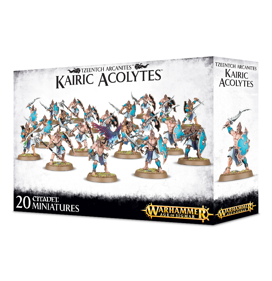 Karic Acolytes: Disciples of Tzeentch