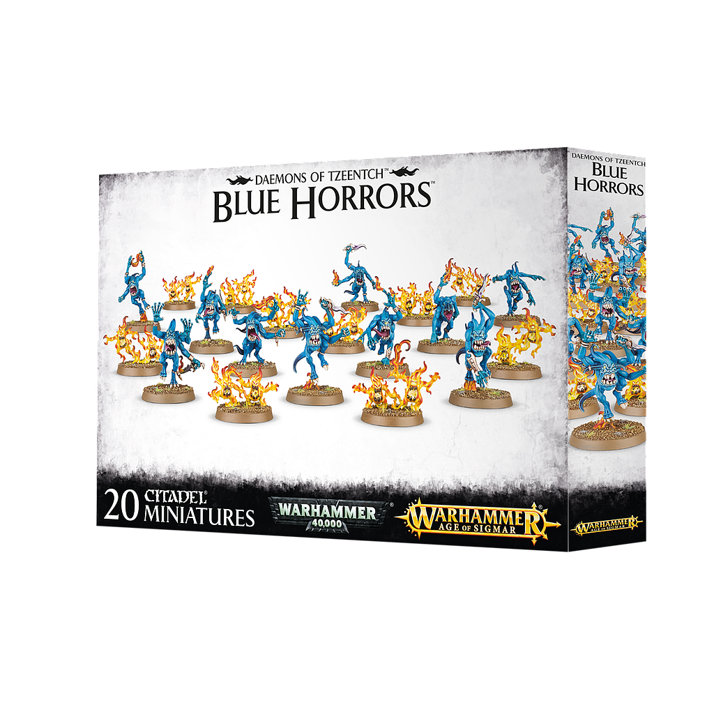 Blue and Brimstone Horrors: Disciples of Tzeentch