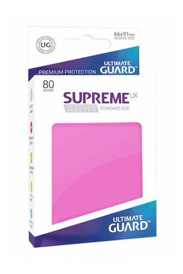 Supreme UX Sleeves: Standard Size Pink (80)