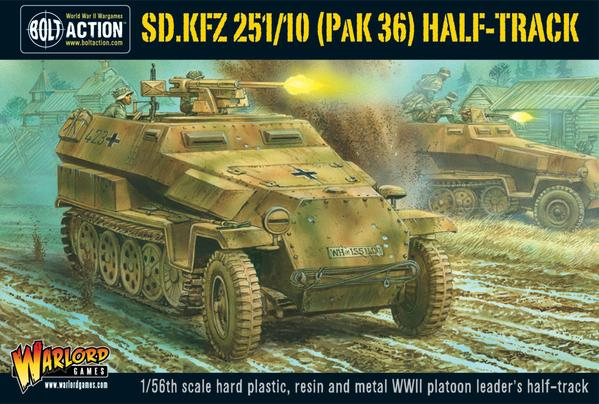 Sd.Kfz 251/10 Pak 36 Half-Track: Bolt Action
