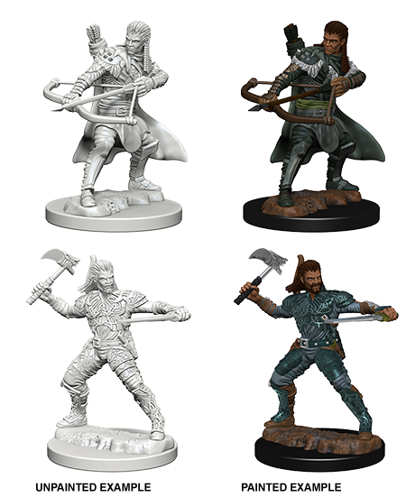 Human Male Ranger: Nolzur's Marvelous Unpainted Miniatures