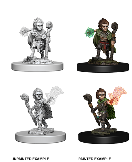 Gnome Male Druid: Deep Cuts Unpainted Miniatures
