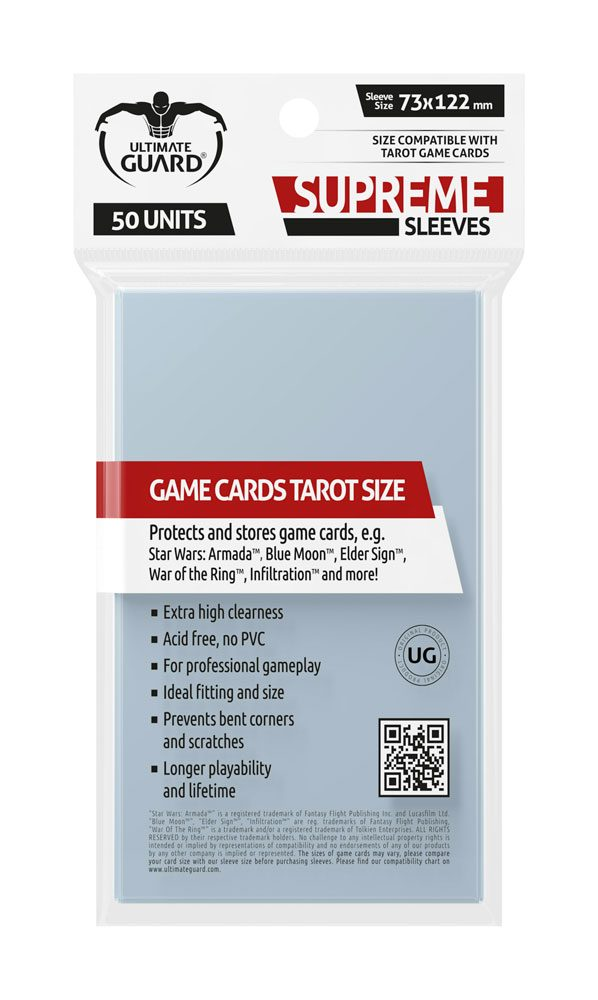 Ultimate Guard Supreme Sleeves For Tarot Cards (50)
