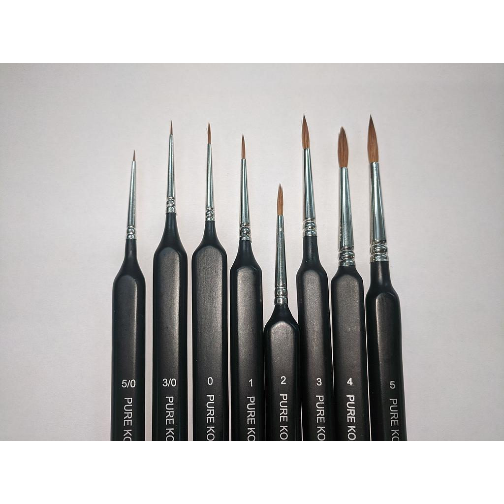 Kolinsky Sable Brush: 5/0