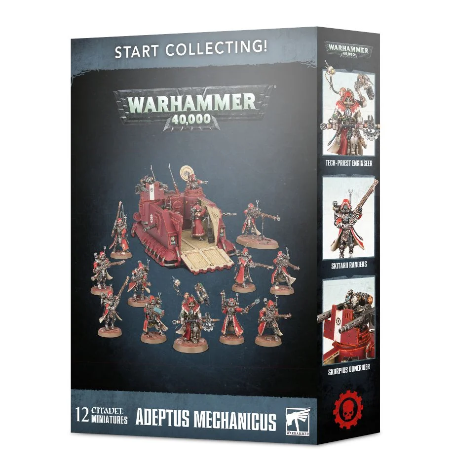 "Games Workshop 99120116014"" Start Collecting Skitarii Miniature"