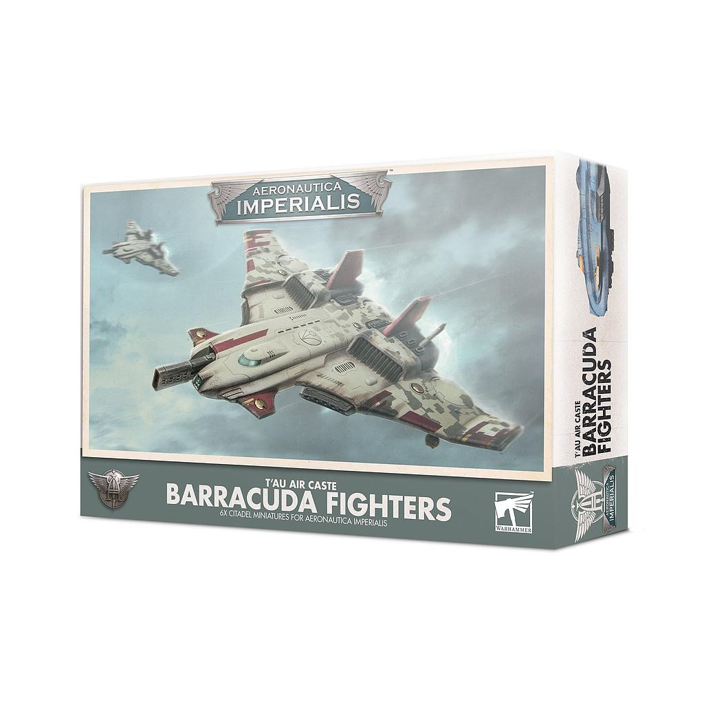 T'au Air Caste Barracuda Fighters: Aeronautica Imperialis