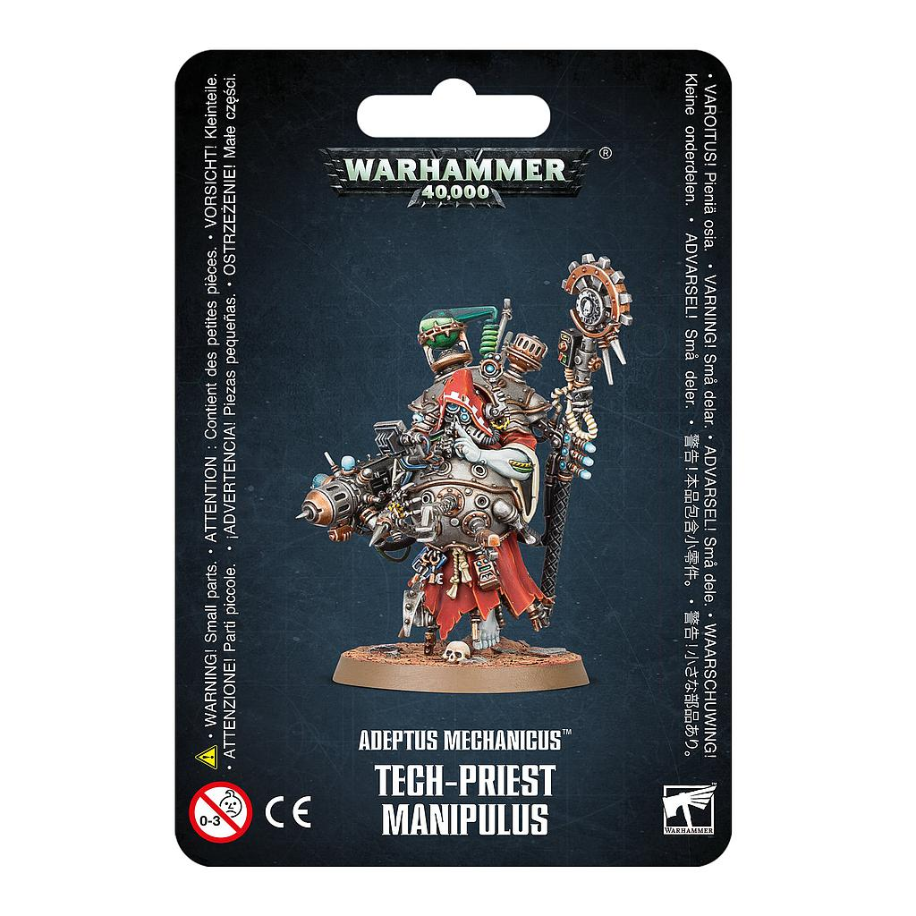 Tech-priest Manipulus: Adeptus Mechanicus